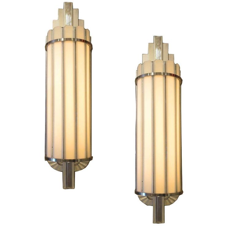 art deco large theater wall sconces