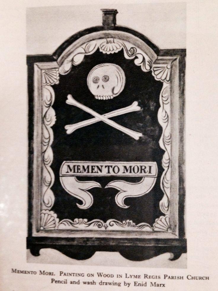 Memento Mori Folkart