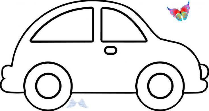 Cool Car Coloring Pages For Kids Br In 2020 Coloring Pages For Kids Easy Coloring Pages Cars Coloring Pages