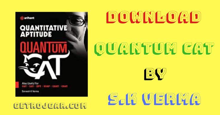 Quantum cat pdf download by sarvesh kumar verma get