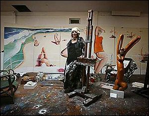 Brett Whiteley Studio - Most famous Australian Painter