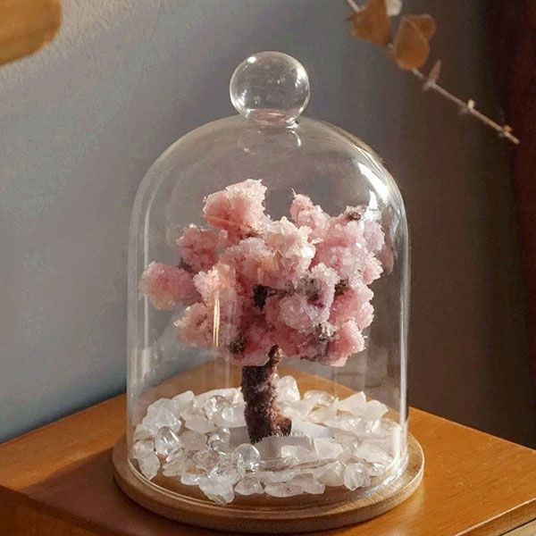 Product Image For Crystal Cherry Blossom Tree Diy Kit Diy Clouds Cloud Lamp Diy Rose Gold Room Decor