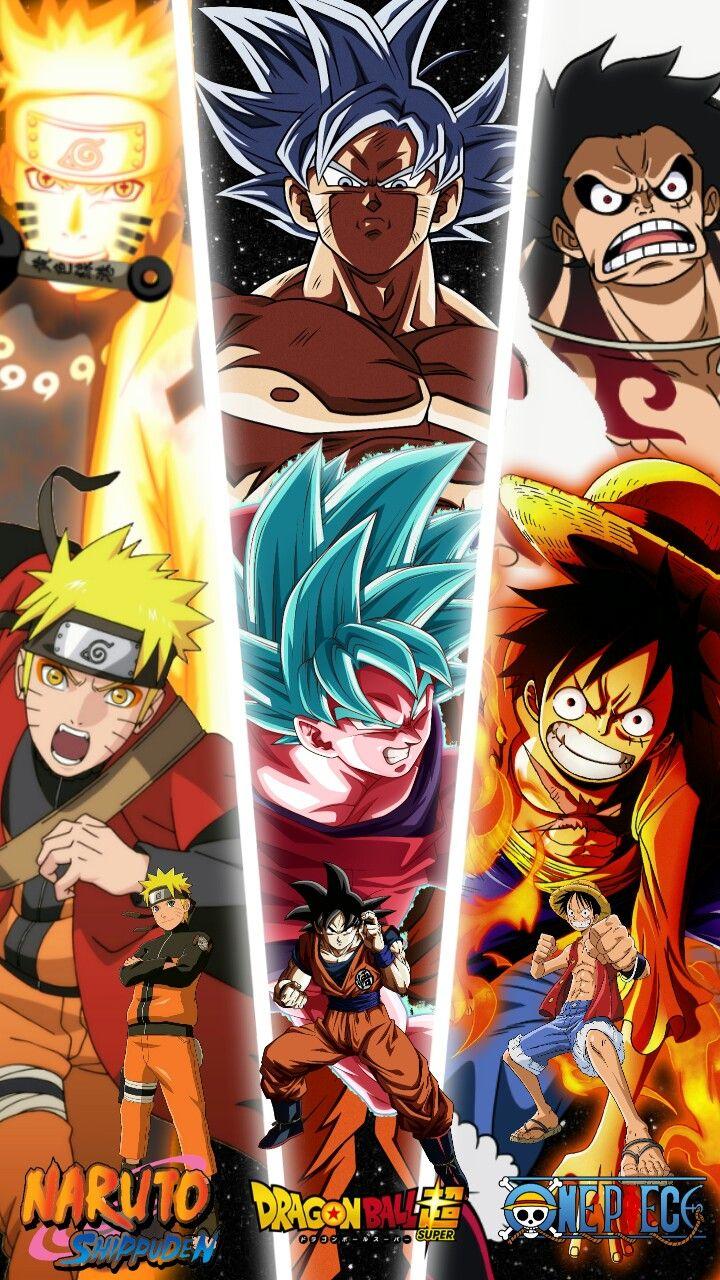 Naruto Goku Luffy Anime Crossover Anime Reccomendations Anime