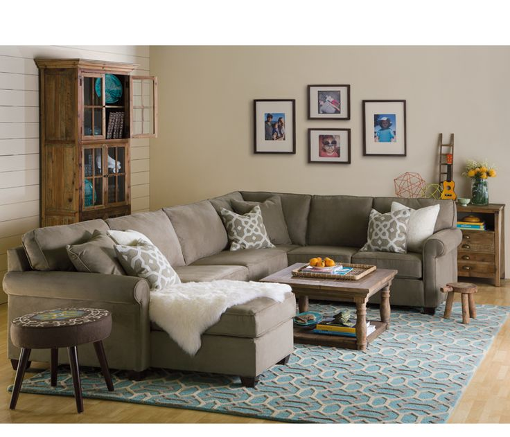 Marshall 3 Pc Sectional With Chaise Boston Interiors Living Room Chairs Boston Interiors