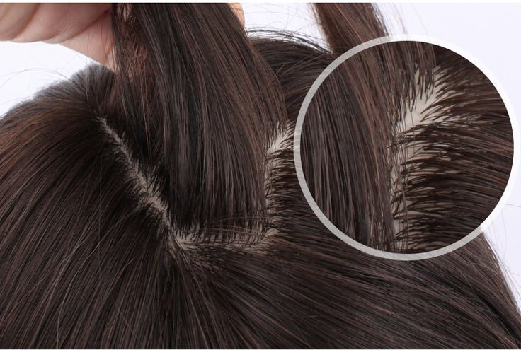 Human hair pieces for short hair or thinning hair | Hair ...