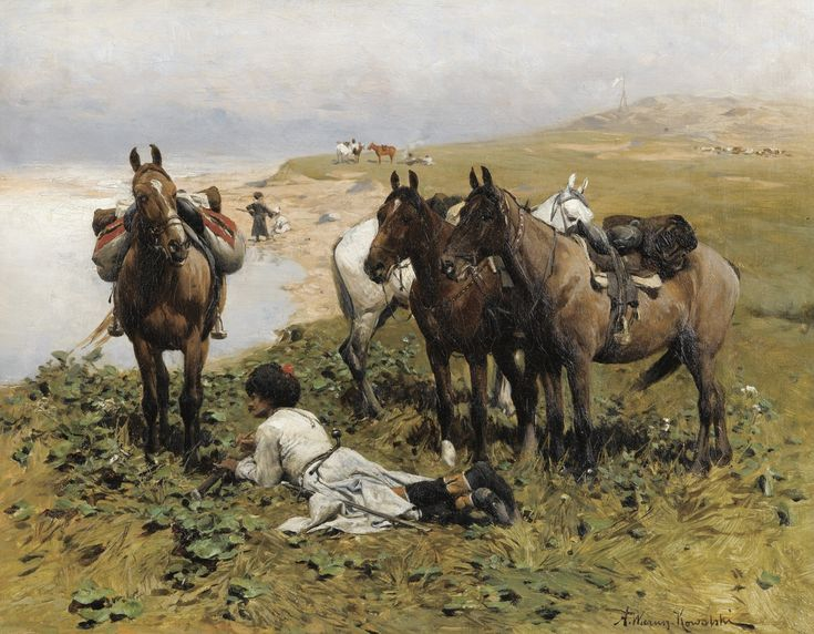 /Alfred_Wierusz-Kowalski_-_The Cossack
