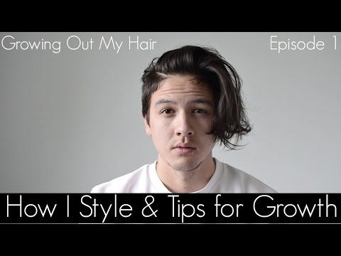 My Daily Routine Growing Out My Hair How to Style