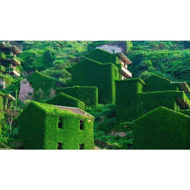 ラピュタの世界にしか見えない!中国の廃村が幻のような美しさ | RETRIP
