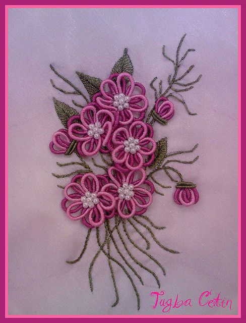 Peçete ~ Brazilian embroidery by ~Tuuba~, via Flickr