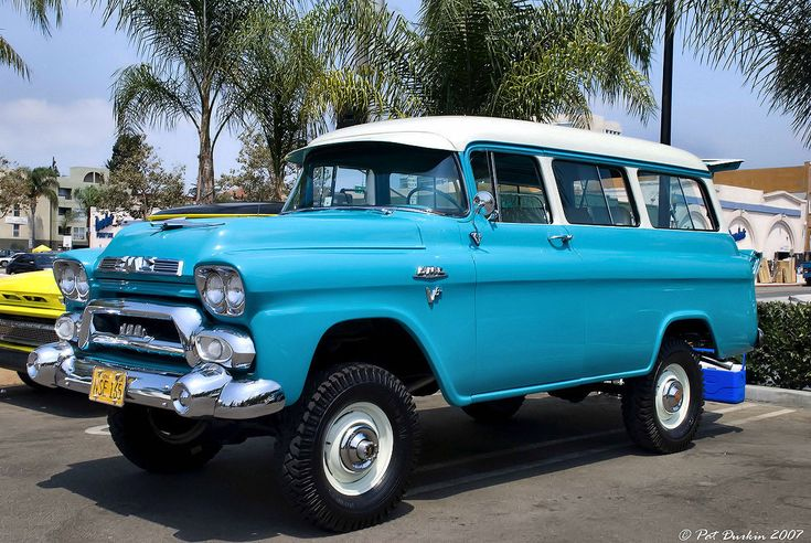 1958 GMC Suburban Carryall | Classic Automotive | Gmc ...