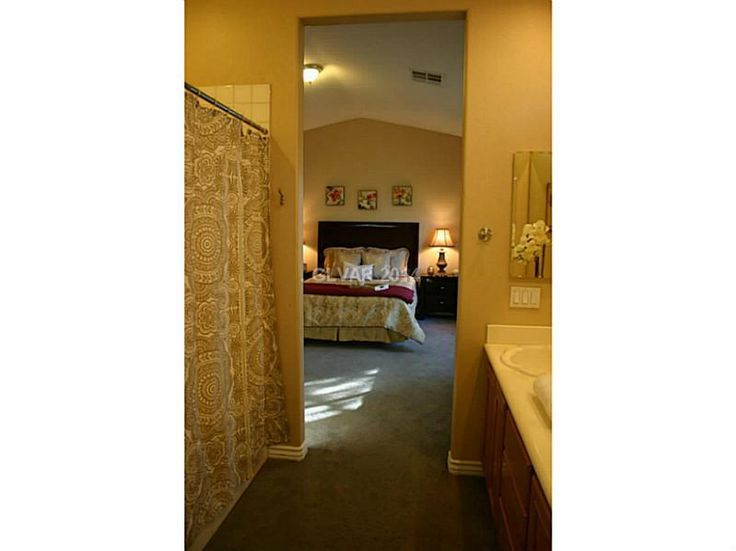3 bedroom home in Silverado Ranch nested on cobblestone driveways in a gated community that has a pool and hot tub and children's play area. Has granite countertops, tile flooring on first floor and shutters upstairs. Home was built in 2002 and has been maintained. It has new paint and a new water heater. Neighborhood is fantastic for families. http://www.realtor.com/realestateandhomes-detail/10379-Cherry-Brook-St_Las-Vegas_NV_89183_M29346-11335