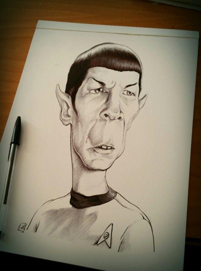 _\\// Farewell Mr Spock (IvandelRio ballpoint)