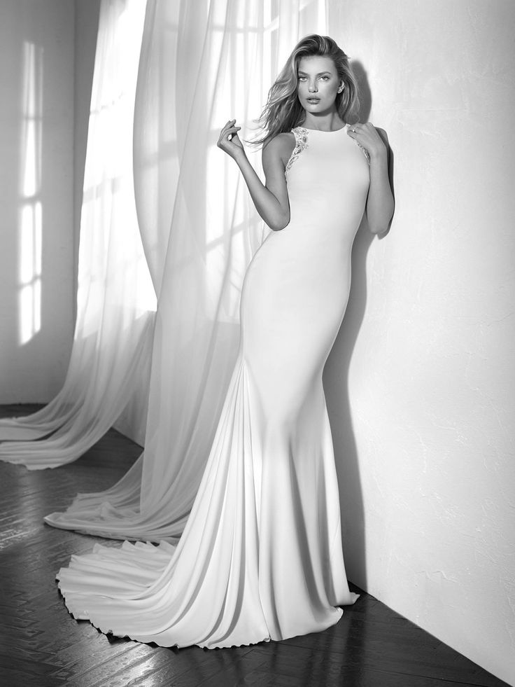 Zafira wedding dress by Studio St. Patrick from Pronovias www.zadikabridal.ie