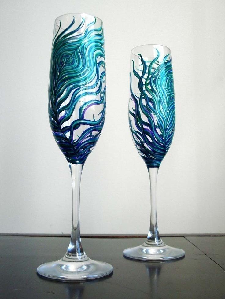 best 25 wedding champagne flutes ideas on pinterest. Black Bedroom Furniture Sets. Home Design Ideas