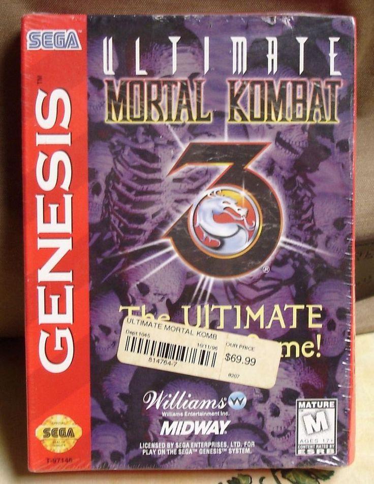 Ultimate Mortal Kombat 3 (Sega Genesis, 1996)