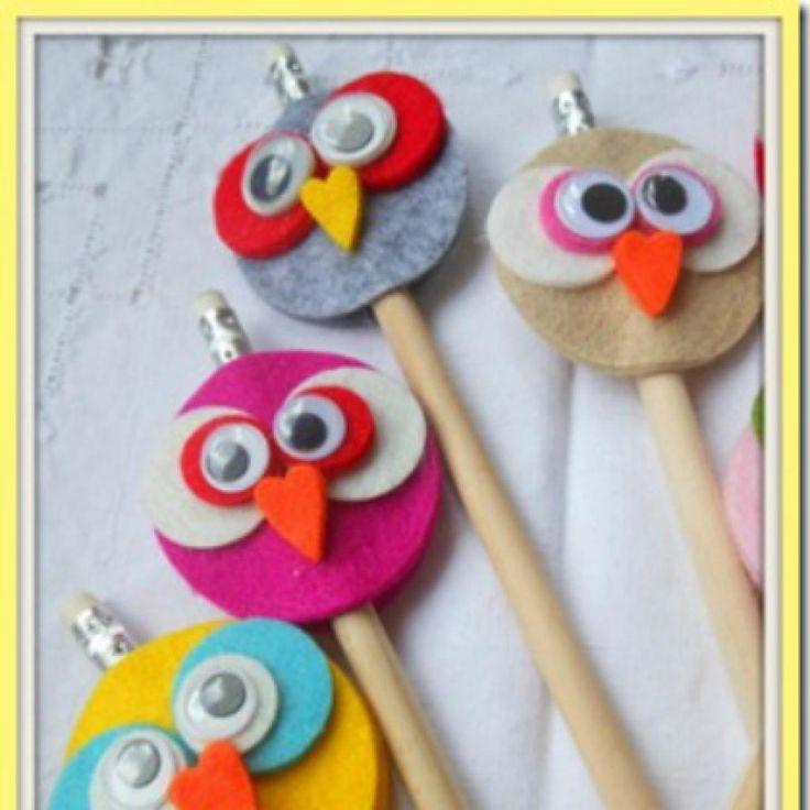 22 idées de bricolages sous le thème des hiboux à faire avec les enfants !