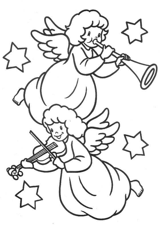 Angeli Di Natale Disegni.5 Jpg 567 800 Libri Da Colorare Colori Di Natale Disegni Da Colorare Natalizi