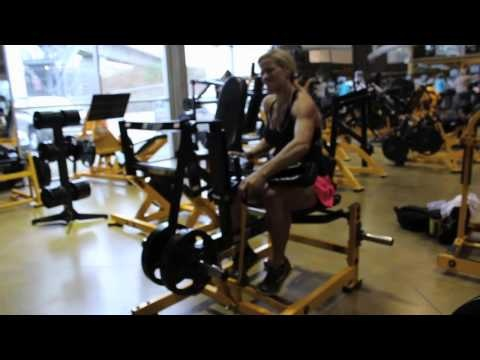 SD Pharmaceuticals sponsored athlete Aeryon Ashlie gives us a look at her leg routine.