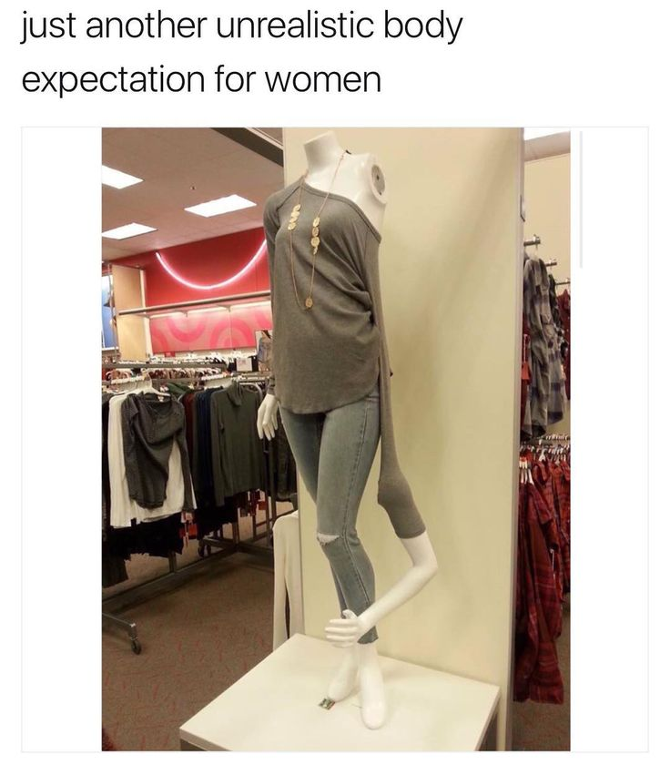 Just another unrealistic body expectation for women. http://ift.tt/2hXiMWZ