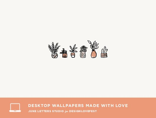 6 Free Desktop Wallpapers On Design Love Fest