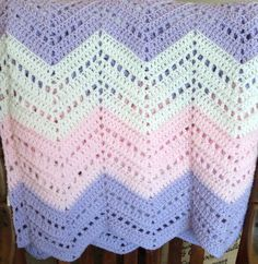 Irish Wave Baby Afghan. - Google Search crochet rugs 2 ...