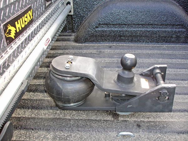 Cody gooseneck cushion, Shocker Hitch, Popup CC2 Cushion improves trailer ride