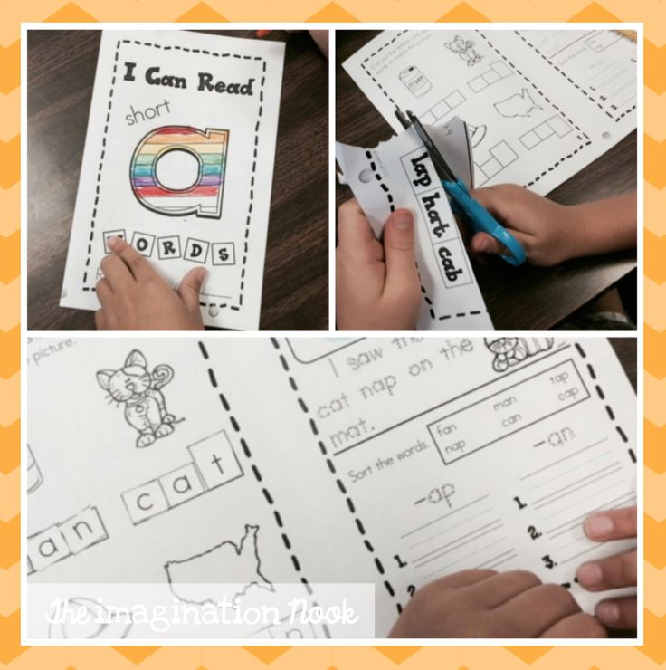 Freebie - Short a interactive booklet. Perfect for working on phonics skills in small groups or whole class.