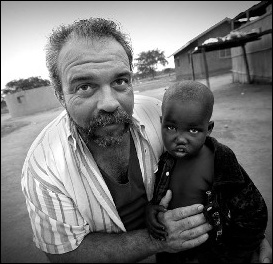 "Sam Childers ""Machine Gun preacher"" such an amazing man changing the world!"