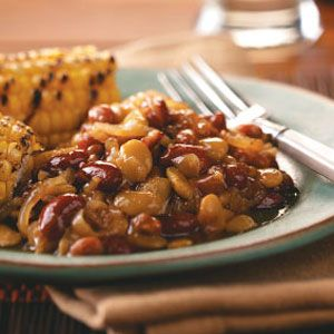 Calico Beans Recipe from Taste of Home