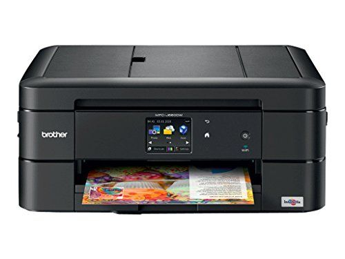 """Brother Printer MFC-J680DW Wireless Color Photo Printer with Scanner, Copier & Fax, Amazon Dash Replenishment Enabled  Upon activation, the Amazon Dash Replenishment service measures the ink level and automatically orders ink from Amazon when low. This ensures that you never run out again.  Mobile device printing via Air print Google Cloud Print Brother iPrint & Scan and Wi-Fi Direct.  Easy to set up wireless networking  Automatic duplex printing  100 sheet paper capacity up to 8.5""""x14..."""