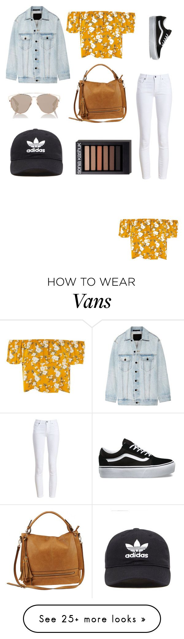 """""""Untitled #56"""" by kenza-bmza on Polyvore featuring Alexander Wang, Barbour, Vans, Urban Expressions, adidas Originals and Christian Dior"""