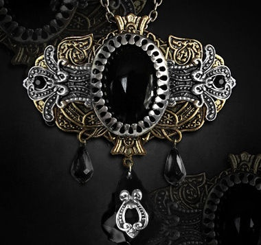 Gothic Baroque Fusion 2 in 1 Pendant & Brooch - $19.95