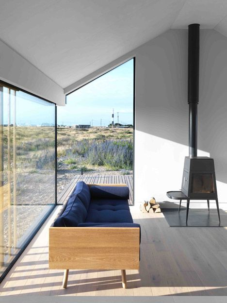 House On Dungeness Beach Clad In Rusty Steel Mesh, Silvery Larch And Grey  Cement Fibreboard. GuysBabyArchitecture Interior DesignHouse ...