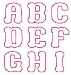 Cute Bubble Letters for I | Cute Bubble Letter Fonts