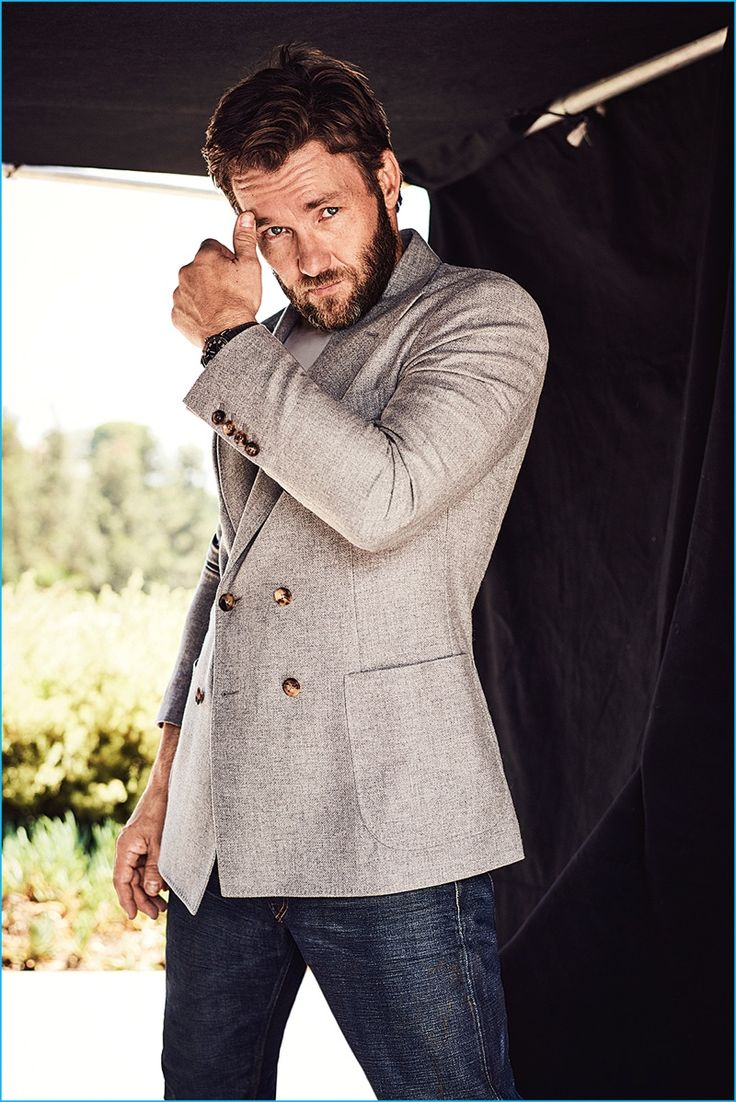 Australian actor and director, Joel Edgerton appears in a photo shoot for GQ Australia.