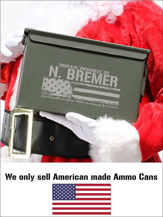 Christmas Gifts for Dad Husband Boyfriend Gift for Men Ammo Box