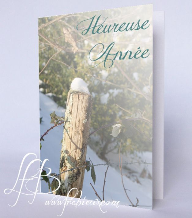 Une jolie carte de vœux à imprimer. https://drive.google.com/file/d/0B_e8NPVKu_e3eHQ2MmhGSFlRTW8/view?usp=sharing #DIY #carterie #carte #cartedevœux #imprimer #printable #photo #neige #happynewyear