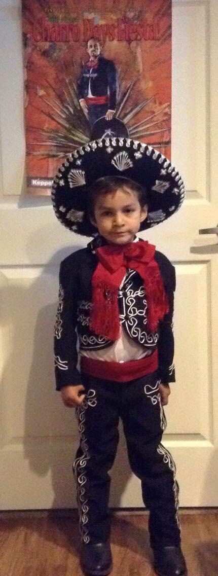 Boys Toddlers , Men Mariachi Suit Set Mexico Folklorico 5 De Mayo Fiesta Dance Costume