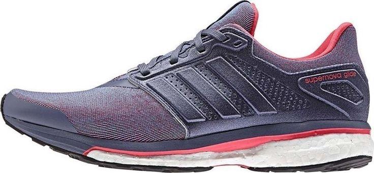 ADIDAS SUPERNOVA GLIDE 8 BOOST Womens Running S80275 Super Purple $130 NEW #adidas #Running