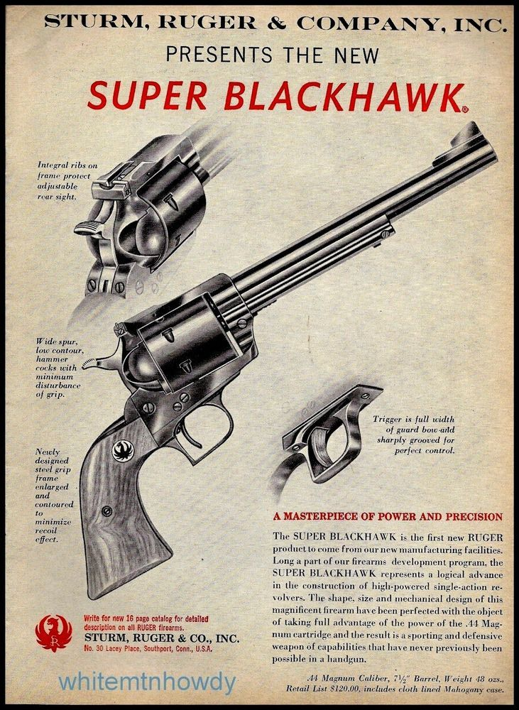 repro vintage firearm ads
