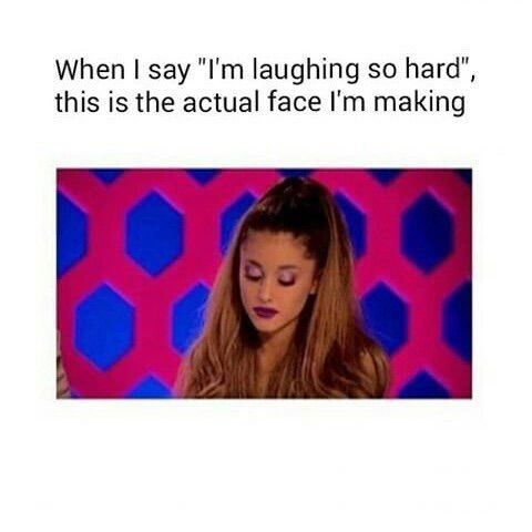 Image via We Heart It #funny #lol #text #arianagrande