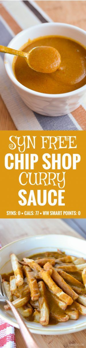 Slimming Eats Syn Free Chip Shop Curry Sauce - gluten free, dairy free, vegetarian, paleo, Whole30, Slimming World, Weight Watchers, friendly (Weight Watchers Gluten Free Recipes)