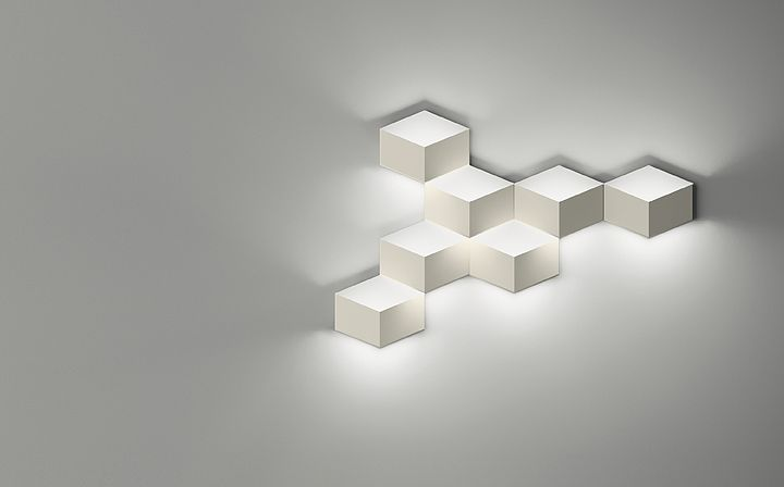 Lámparas de pared FOLD SURFACE 4207 Diseño de Arik Levy