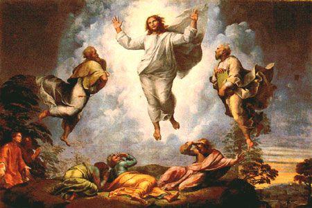 """""""Transfiguración"""", Rafael Sanzio, 1520"""