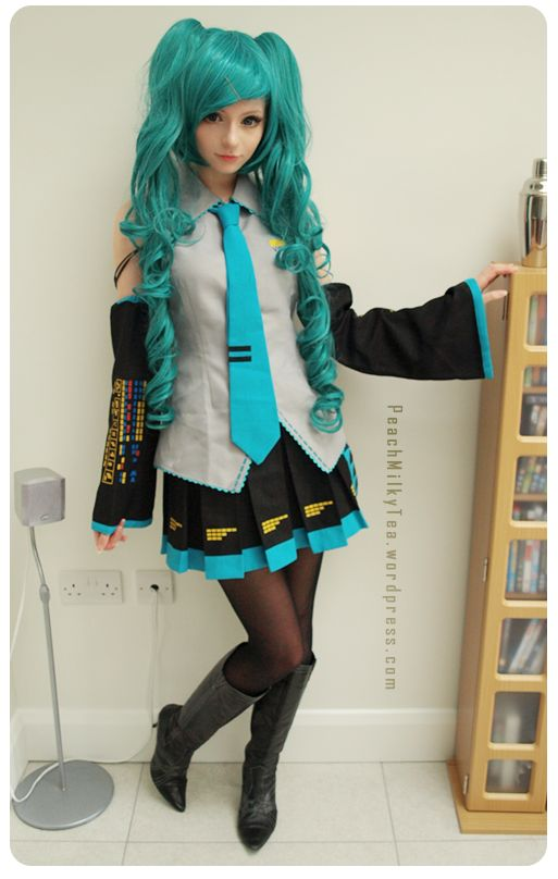 miku cosplay that's really cool