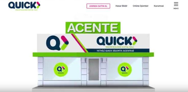Quick Sigorta İlk TV Reklam Kampanyası yayınlandı.