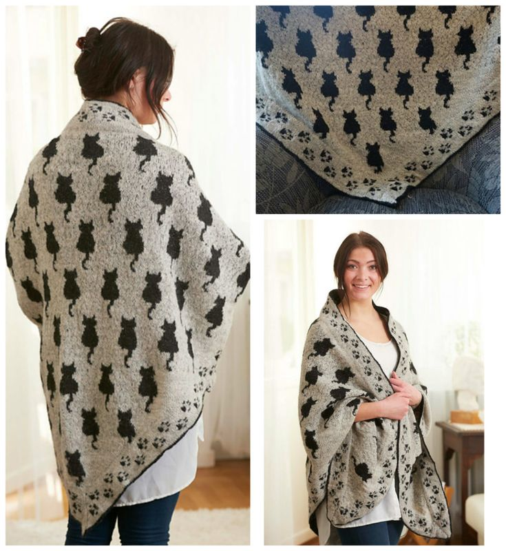 Knit a Cat Shawl That's Pawsitively Purrrfect – The Pattern is Free! | KnitHacker