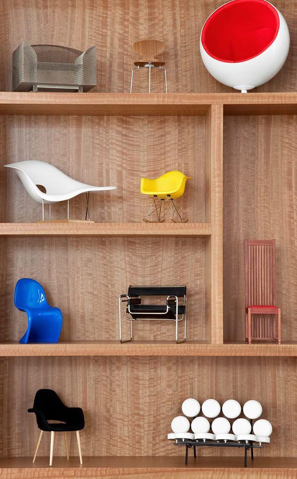 Vitra, Miniature classic vintage furniture