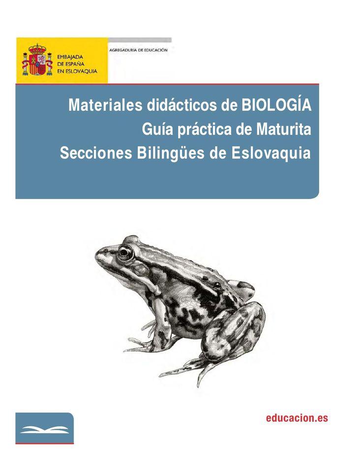 2 biologia mat didactico  Material didáctico para el área de biología