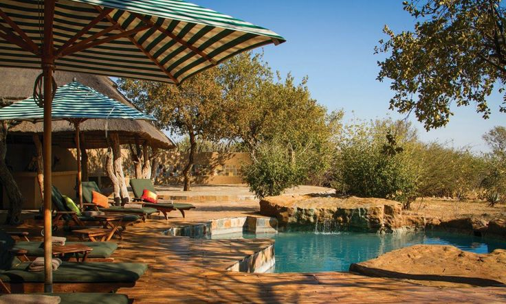 We have a big pool at the main lodge, but every room also has their own plunge pool.
